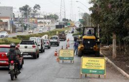 Pista da Av. das Torres será estendida para garantir mobilidade durante obra