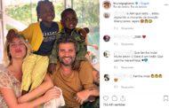 Bruno Gagliasso e Giovanna Ewbank mostram fotos do segundo filho adotado no Malawi