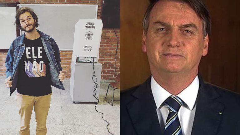 Túlio Gadêlha, namorado de Fátima Bernardes, aciona a justiça contra Bolsonaro motivo é surreal e envolve milhões