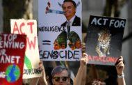 Protestos em defesa da Amazônia acontecem na Europa e na Ásia