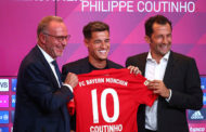 Coutinho assina contrato e ganha a camisa 10 do Bayern de Munique
