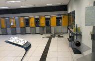 Ladrões tentam explodir caixa eletrônico em Nobres